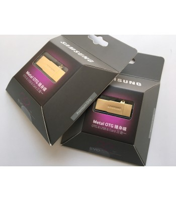 Samsung EVO Metal OTG USB Card Reader 32GB Gold