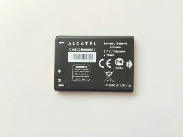 Батерия за Alcatel One Touch 20.12G CAB22B0000C1 750 mAh